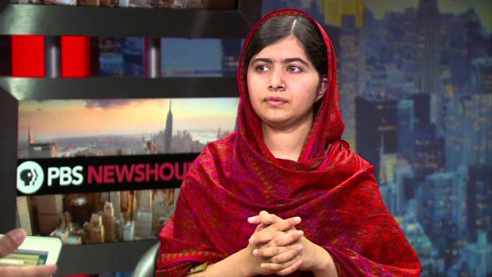 Malala Yousafzai shares dream of 'every child going to school'