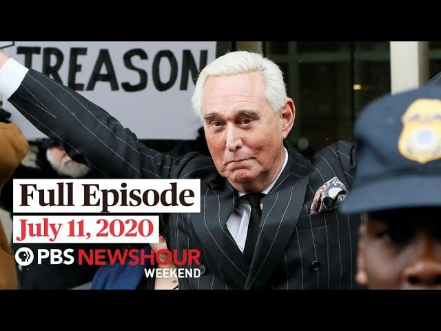 PBS NewsHour Weekend full episode July 11, 2020