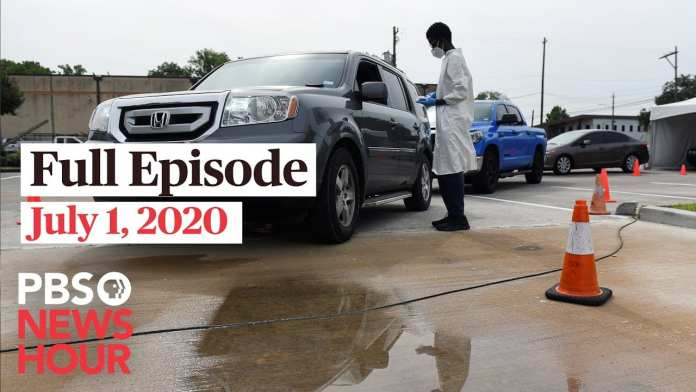 PBS NewsHour full episode, July 1, 2020