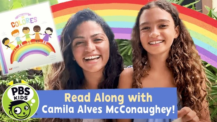 READ ALONG with CAMILA ALVES MCCONAUGHEY! | Cantando (Singing) De Colores