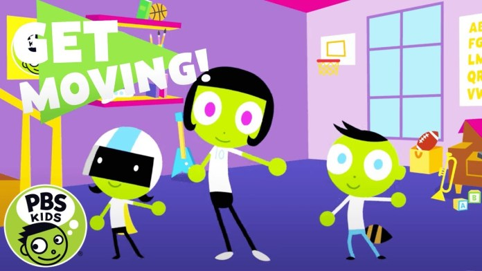 PBS KIDS: Get Moving!   Sports