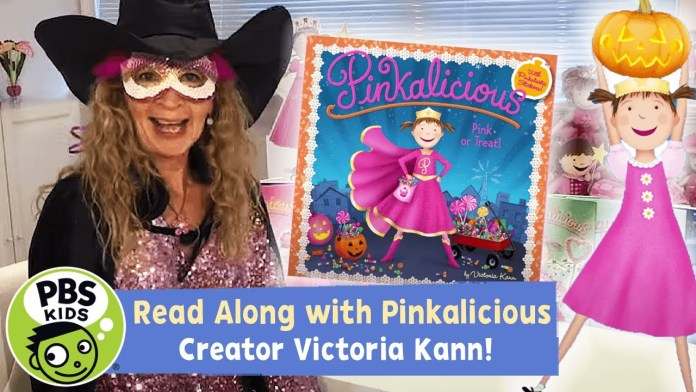 🎃🍬 Pink or Treat | Pinkalicious READ ALONG! | PBS KIDS