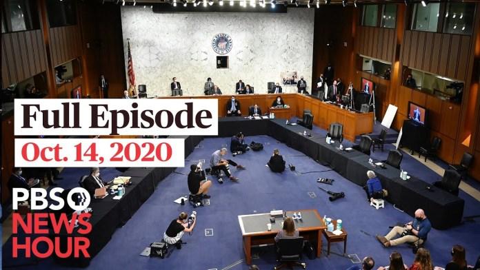 PBS NewsHour full episode, Oct. 14, 2020
