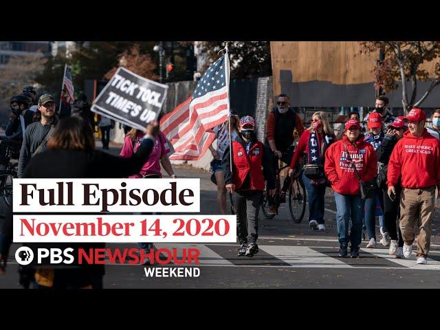 PBS NewsHour Weekend Full Episode November 14, 2020