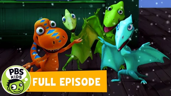 Dinosaur Train FULL EPISODE   Dinosaurs in the Snow / Cretaceous Conifers   PBS KIDS