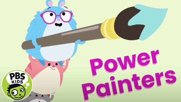 Team Hamster! | Power Painters | PBS KIDS