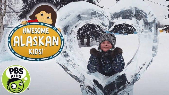 Molly of Denali | Awesome Alaskan Kids: The Ice Park | PBS KIDS