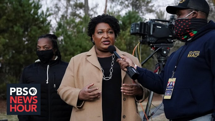 Stacey Abrams on Biden's leadership, Georgia's election and challenging voter suppression