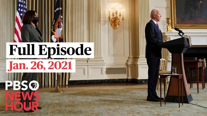 PBS NewsHour West live episode, Jan. 26, 2021