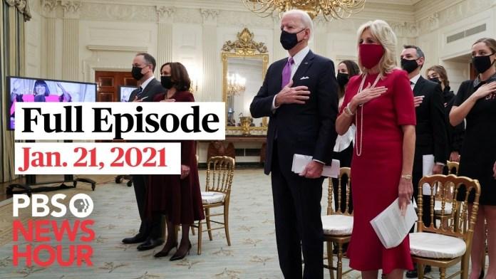 PBS NewsHour West live episode, Jan. 21, 2021