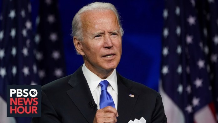 WATCH: Former Vice President Joe Biden speaks as vote count continues on Election Night