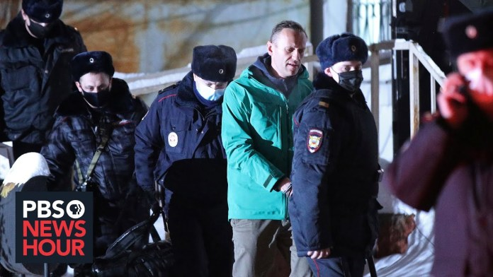 News Wrap: Russian opposition leader Alexei Navalny jailed for 30 days