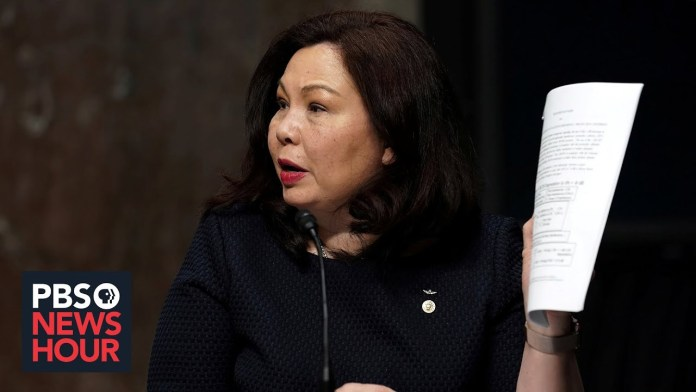 Sen. Duckworth writes of resiliency, healing in her book that's a 'love letter' to America