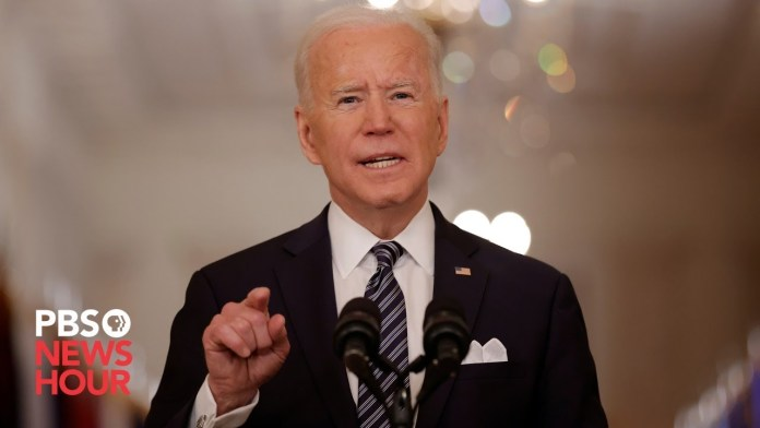 WATCH LIVE: Biden gives remarks on COVID-19 response and vaccinations