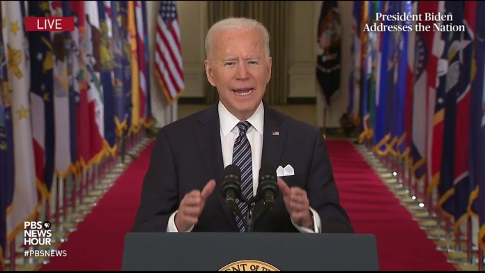 WATCH: Biden says violence towards Asian Americans 'must stop'