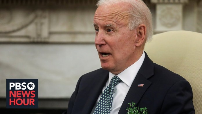 News Wrap: Biden says Cuomo should resign, supports changing Senate filibuster rule