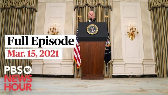 PBS NewsHour West live episode, Mar. 15, 2021