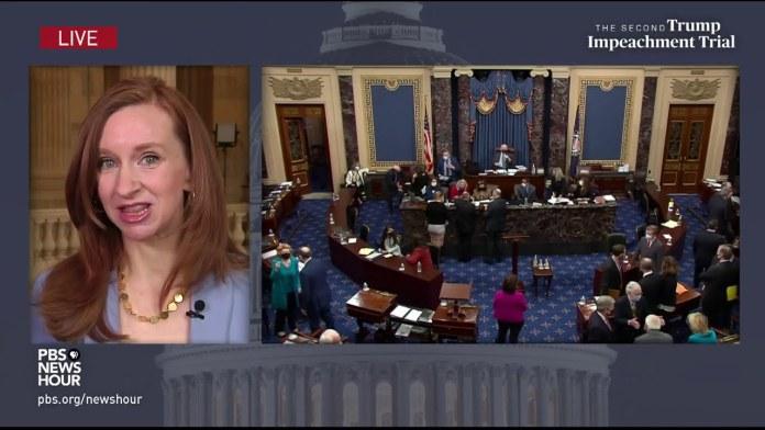 WATCH: Lisa Desjardins explains confusion following witness vote | Second Trump impeachment trial