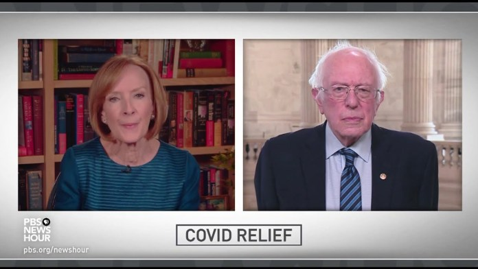 Sen. Sanders says GOP is 'wasting Senate time' instead of passing essential COVID-19 relief