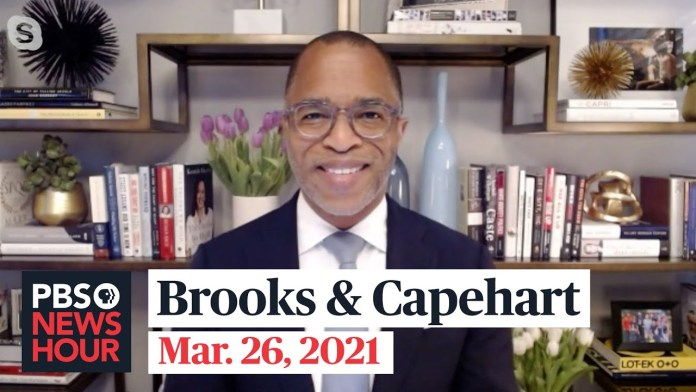 Brooks and Capehart on voting and gun violence legislation, Biden's first news conference