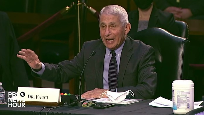 WATCH: 'Masks are not theater,' Dr. Fauci says