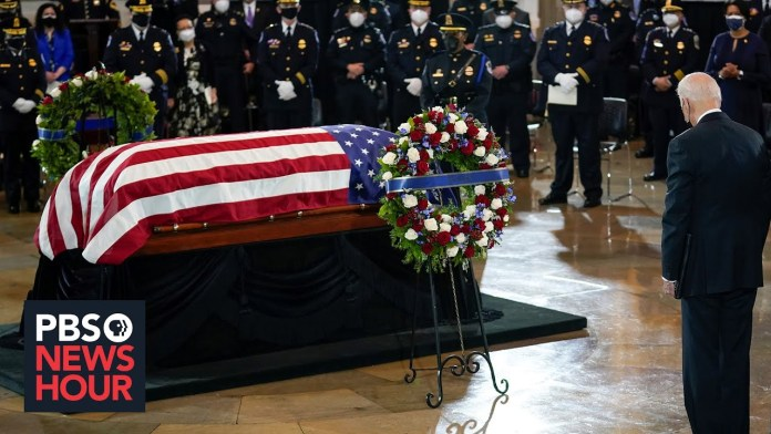 News Wrap: Slain U.S. Capitol Police officer honored by the nation's leaders
