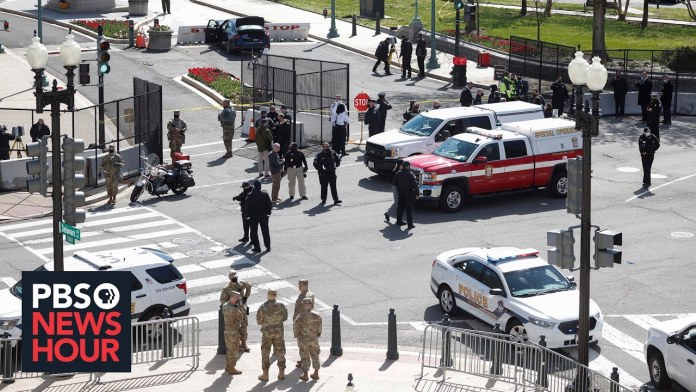 News Wrap: Police officer, suspect killed in new attack at the U.S. Capitol