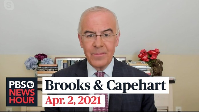 Brooks and Capehart on Biden's new infrastructure plan, Georgia's voting law