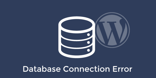 Fixing error establishing a database connection