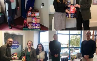 "Battens Charitable Trust Makes an ""Egg-cellent"" Donation"