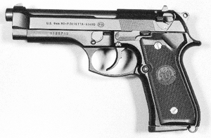 9 mm semi-auto pistol