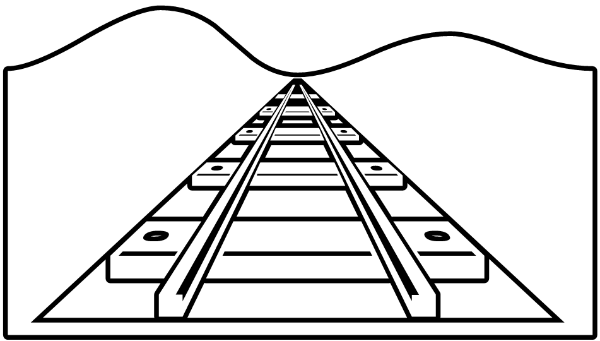 Image result for free clipart railroad track transparent