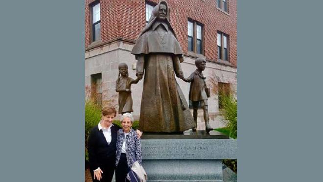 Sister Susanne Hartung Visits Sisters in Holyoke