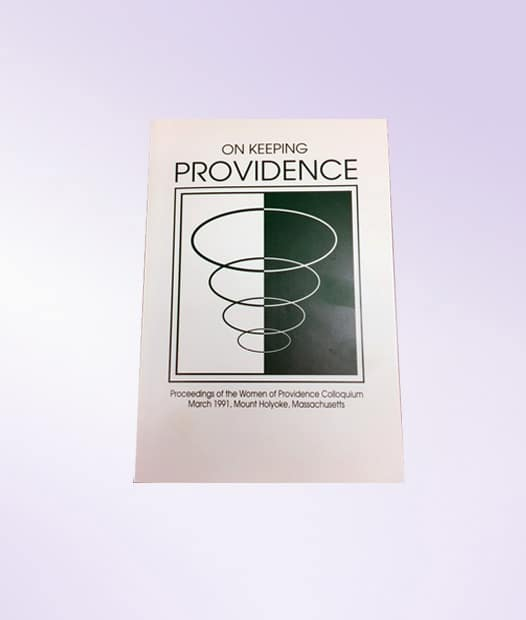 On Keeping Providence book