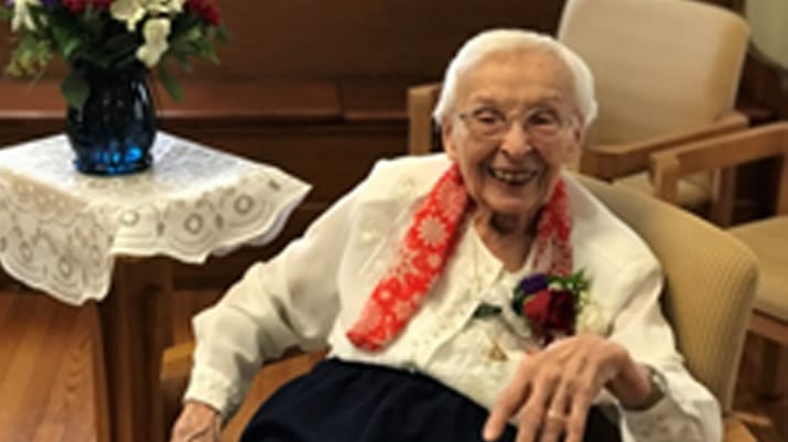 A World War II nurse who became a nun is honored on Veterans Day