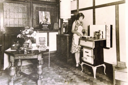 SWEHS000092.jpg - Date c1935 - A variety of appliances by Belling, Sadia and others can be seen..