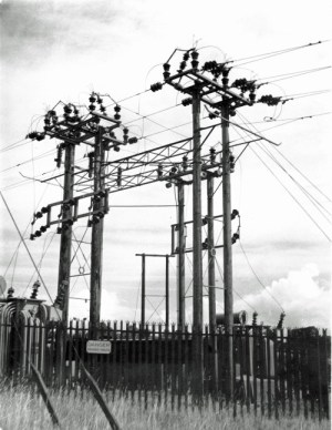 SWEHS 13.0.009.jpg - Date c1935 - 33/11kV substation. Unknown .