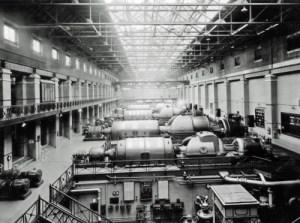 SWEHS 3.2.092.jpg - Date 16/02/1948 - Portishead Generating Station generating sets 2, 3, 4 & 5. North Somerset, Portishead .
