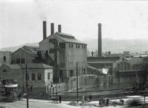 SWEHS 5.2.004.jpg - Date 1928 - Dorchester Street Generating Station, Churchill Bridge. Commenced supply 1890. Bath and North East Somerset, Bath, City .
