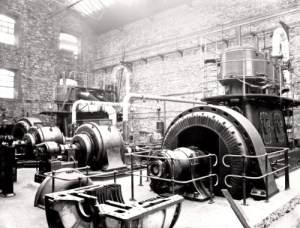 SWEHS 7.0.022.jpg - Date 1913 - Hayle Power Station generator. Cornwall, Hayle .