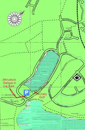Map of Swanpool