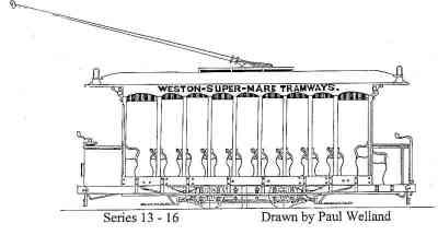 Single Deck Open Tram Car