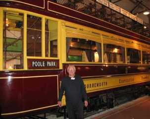 Tram No 85 at the SEB Museum Christchurch