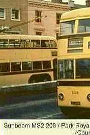 Trolleybuses in Bournemouth - Sunbeam MS2 208