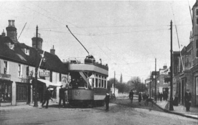 Poole around 1901 (Second batch car Nos. 12 to 17)