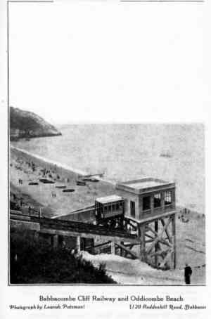 Babbacombe Cliff Railway Picture