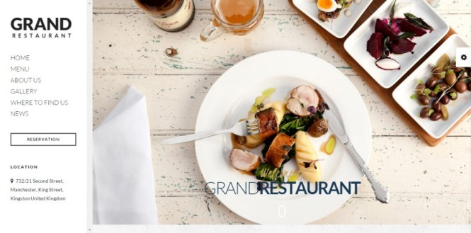 Grand Restaurant Restaurant Cafe Thème