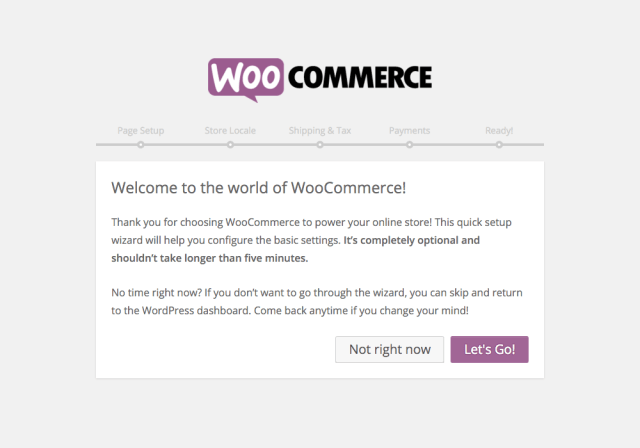 WooCommerce Quick Start