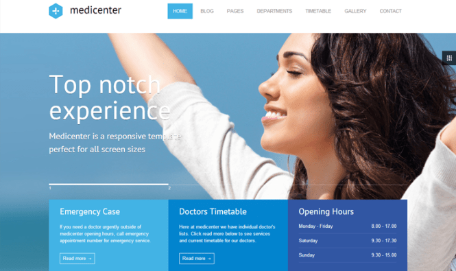 Thème WordPress de Medicenter Health & Medical