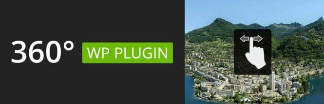 Meilleurs plug-ins de cartographie: Plugin 360 Panoramic Premium WordPress